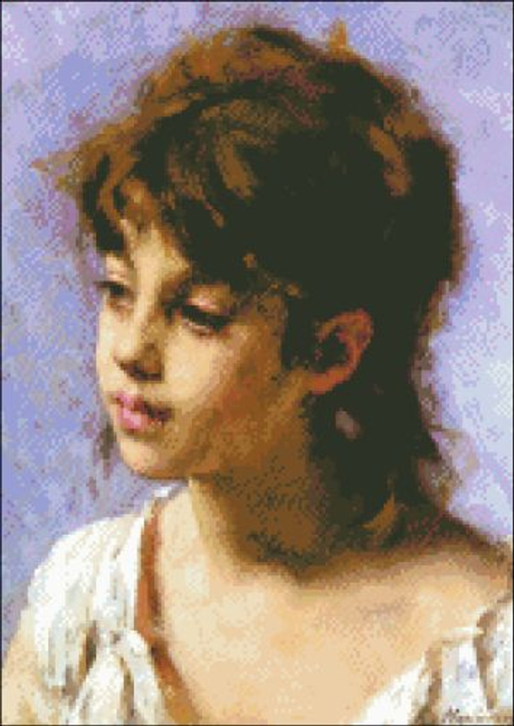 Portrait of a Peasant Girl