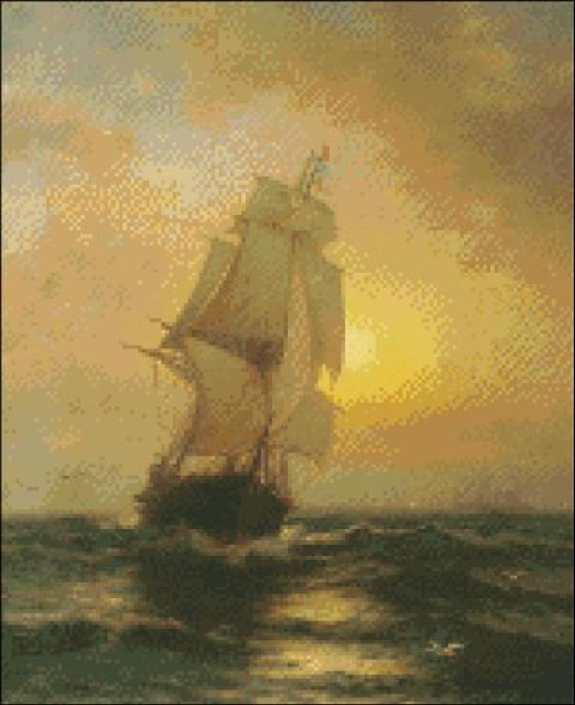 Full Sail at Sunset
