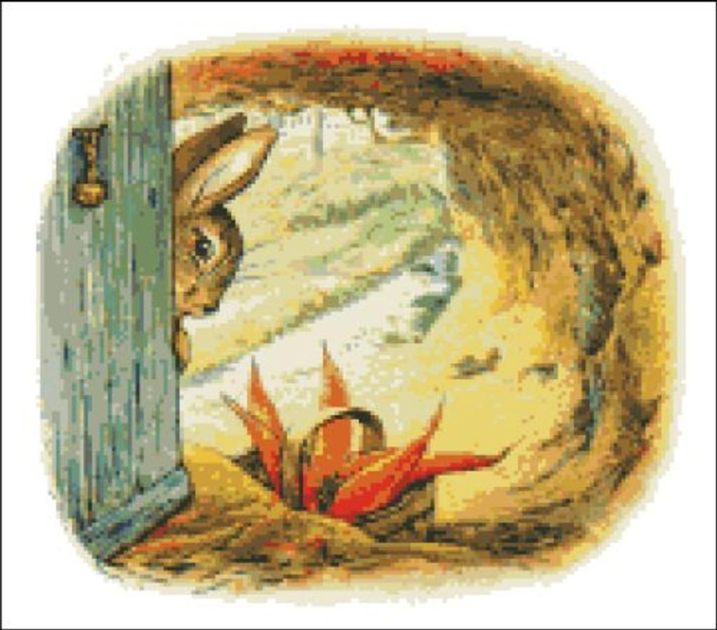 A Present of Carrots Peter Rabbit