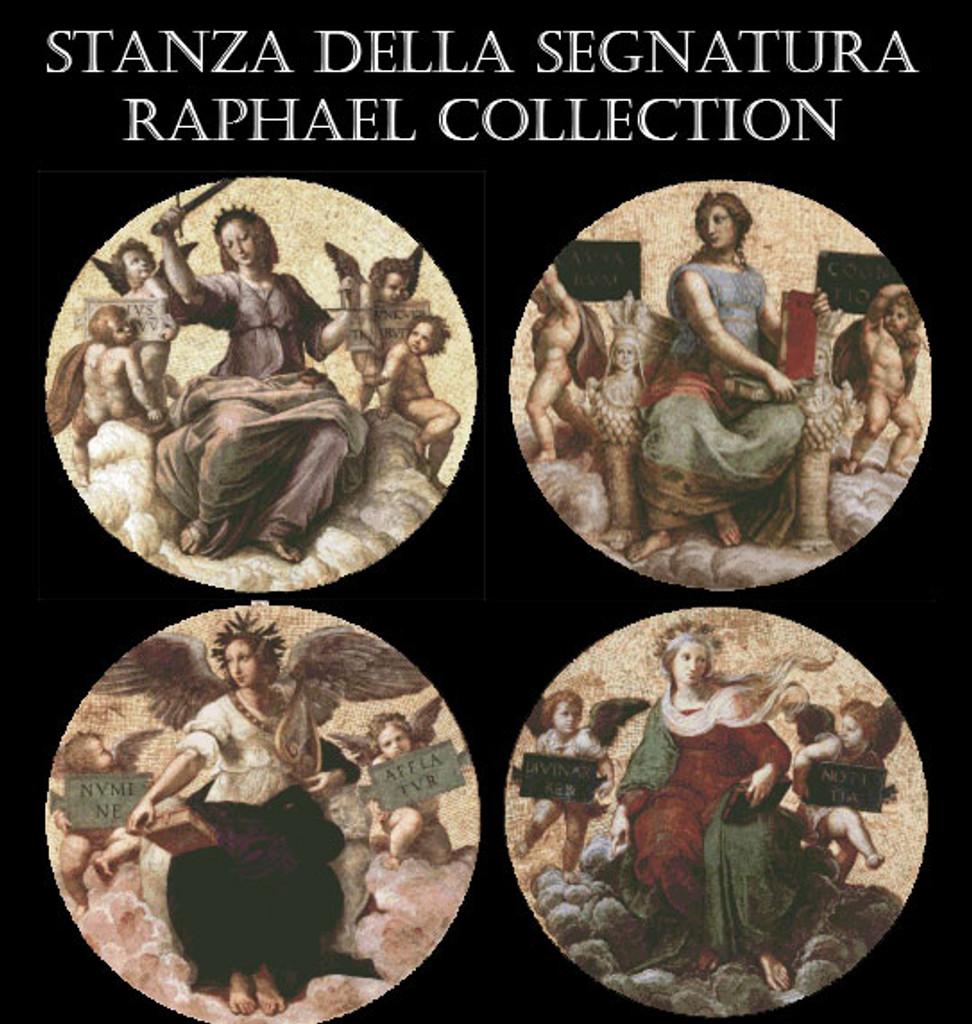 Raphael's Stanza della Segnatura Cross Stitch Pattern Collection