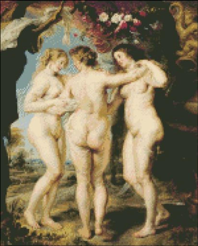 Three Graces by Rubens