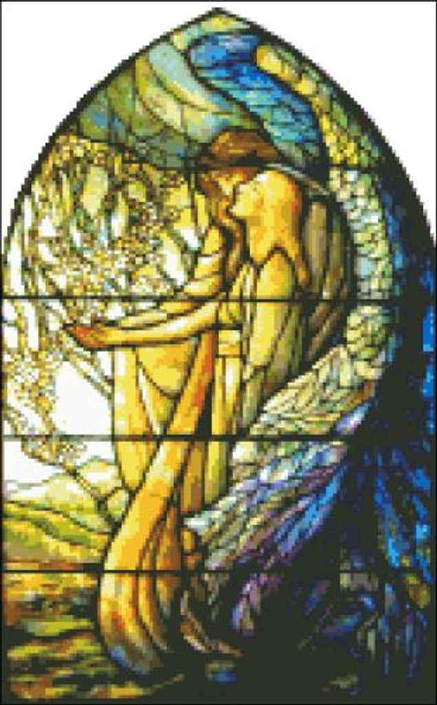 Guiding Angel Stained Glass