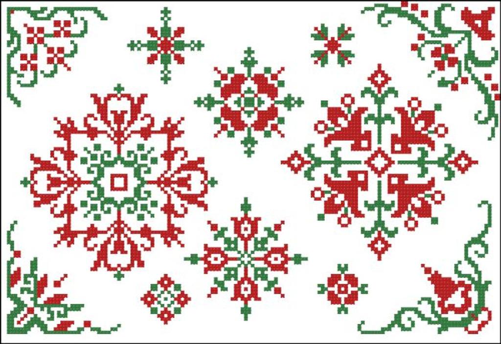 Christmas Motifs & Borders