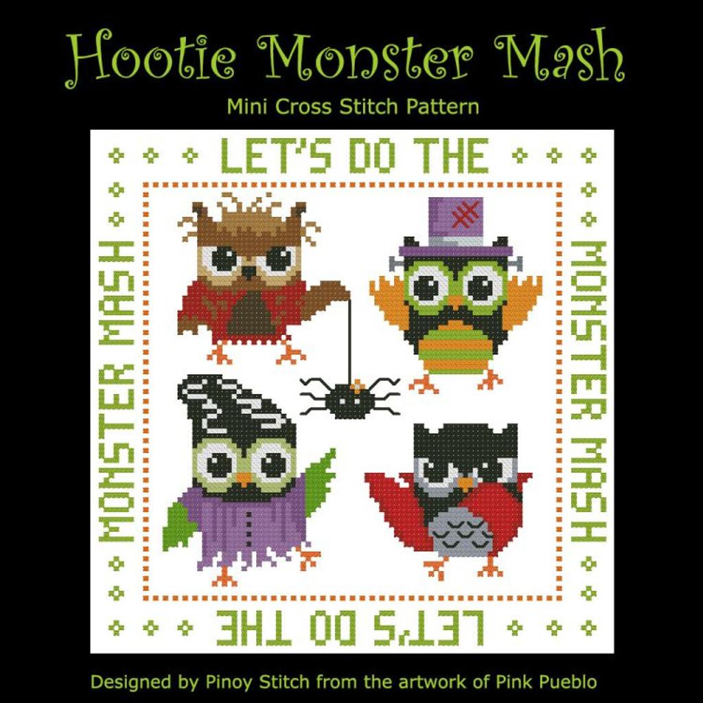 Hooties Monster Mash Halloween