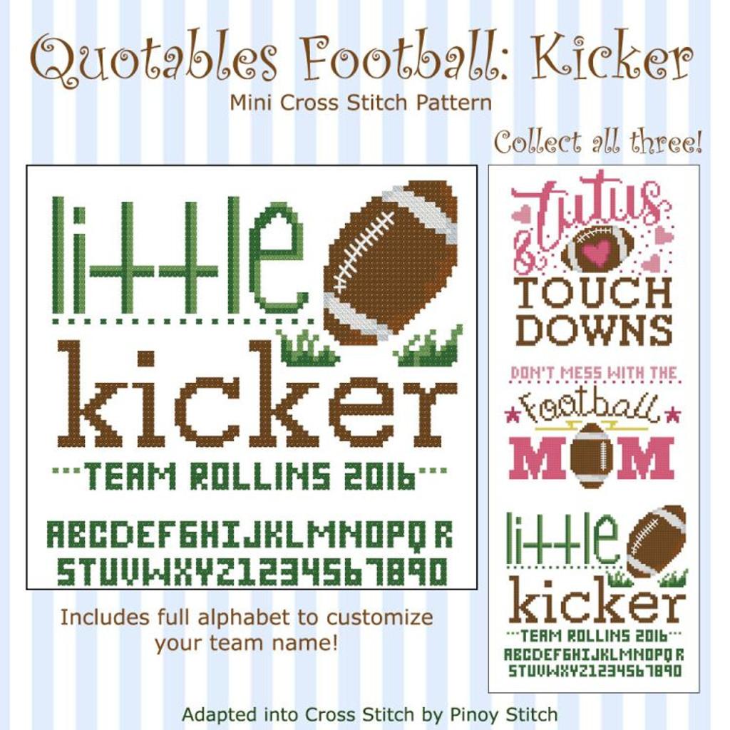Quotables Football  Kicker
