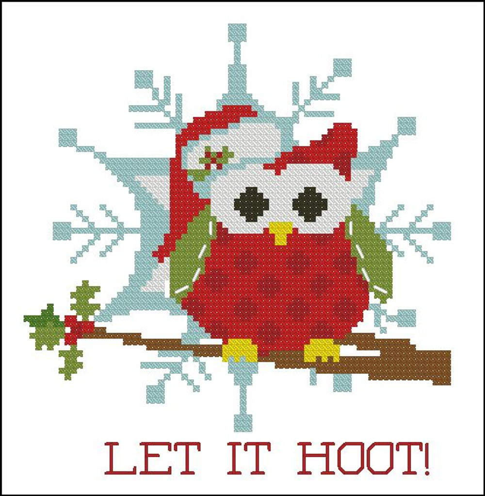 Christmas Hootie 005 Let it Hoot