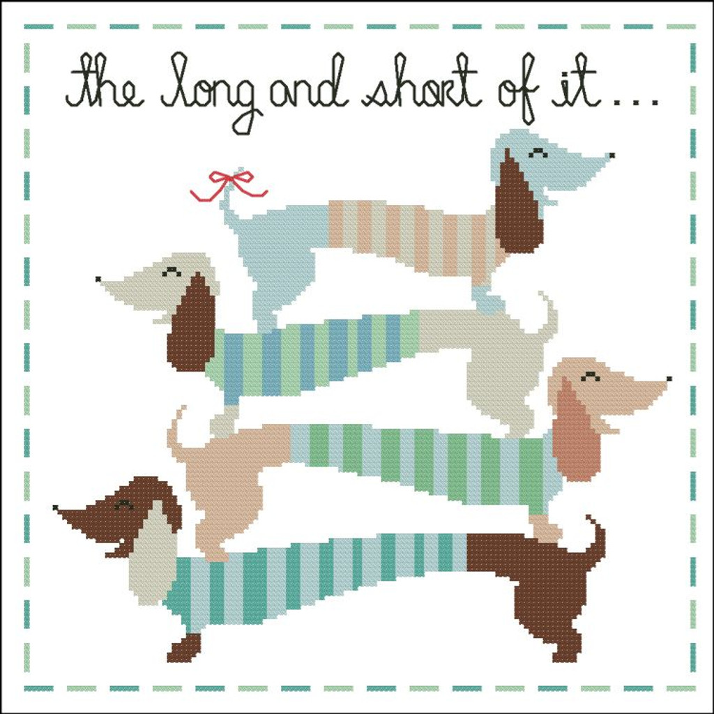 The Long and Short of It (Dachshunds)