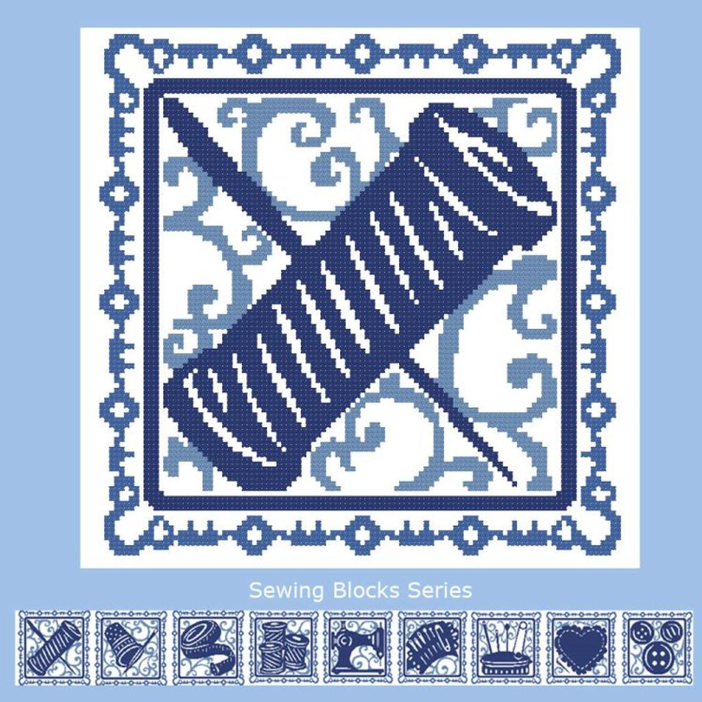 Sewing Blocks: Needle & Thread