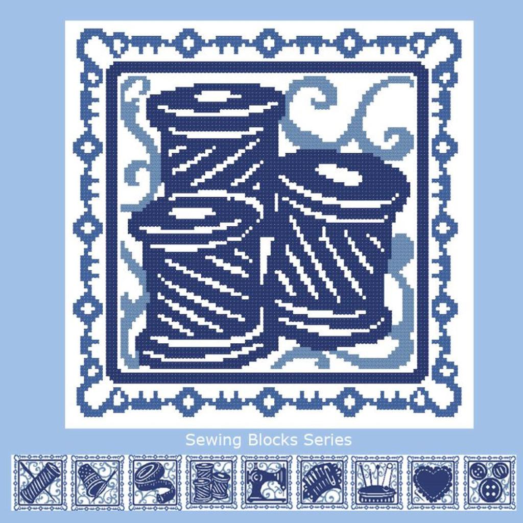 Sewing Blocks: Spools