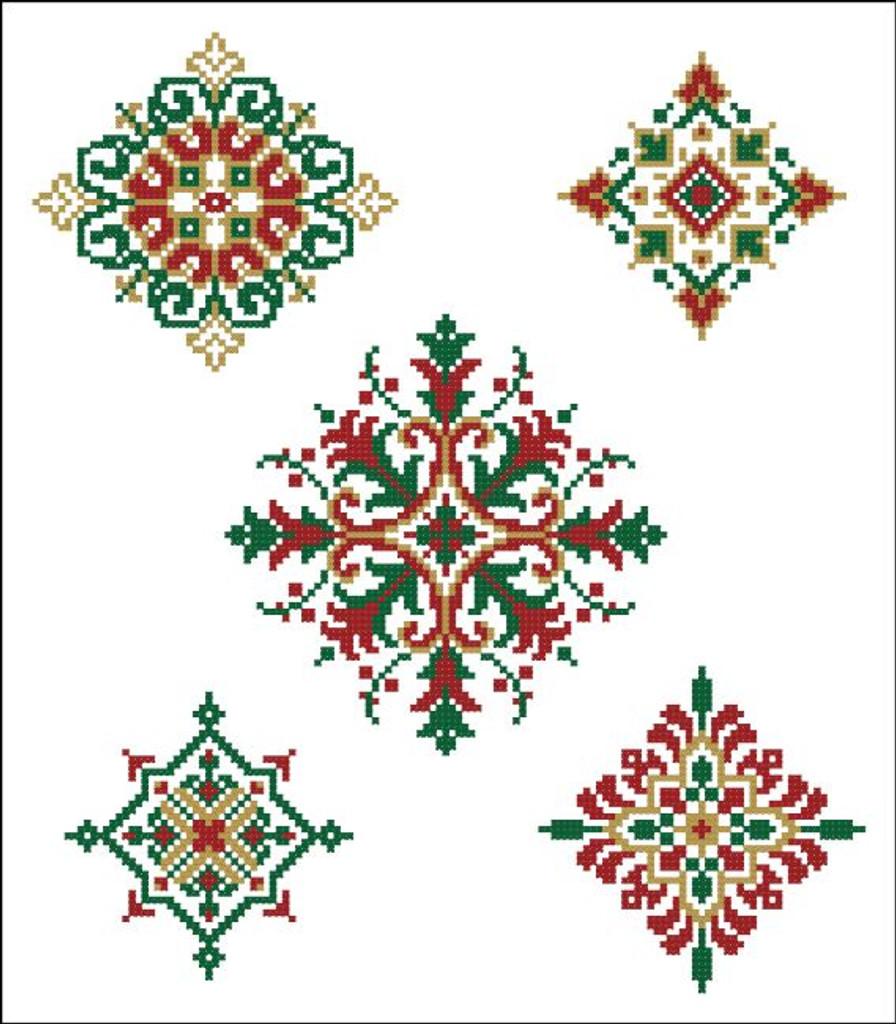 Geometric Medallions Christmas