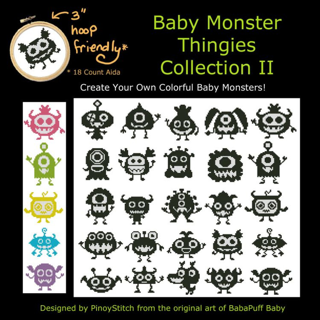 Baby Monster Thingies Collection II