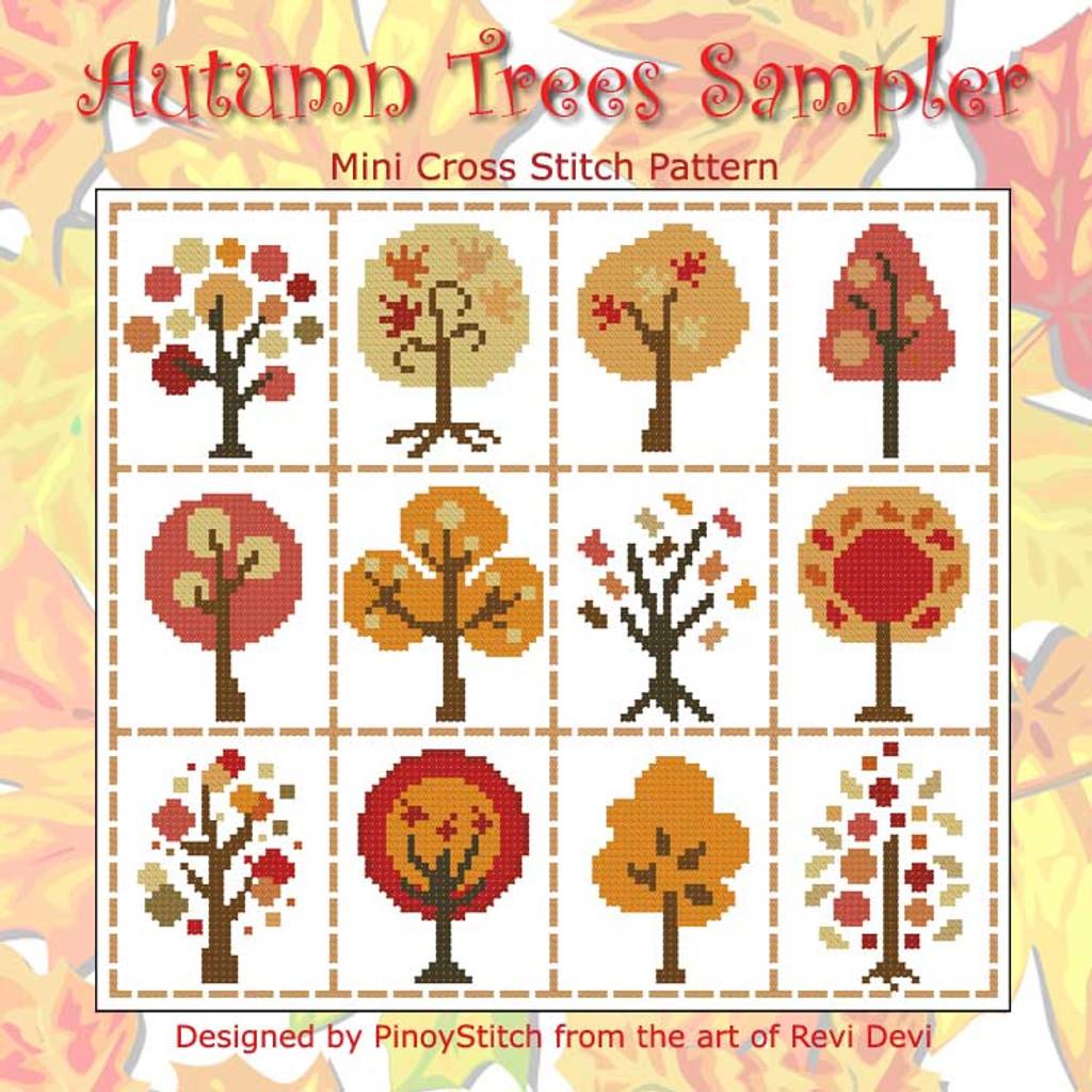 Autumn Trees Sampler