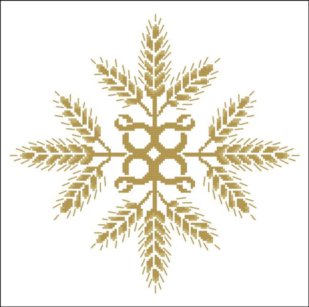 Floral Ornamental #071 Golden Wheat
