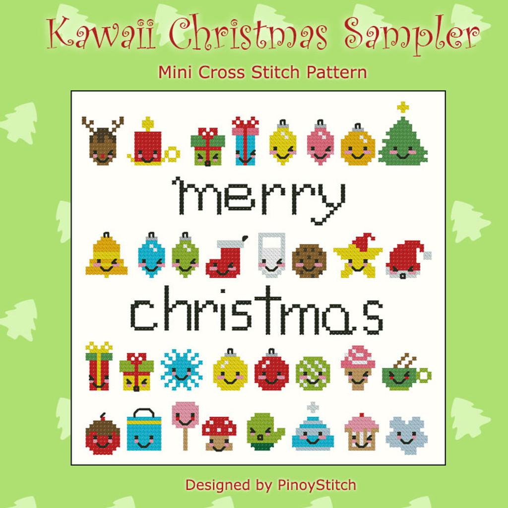 Kawaii Christmas Mini Sampler