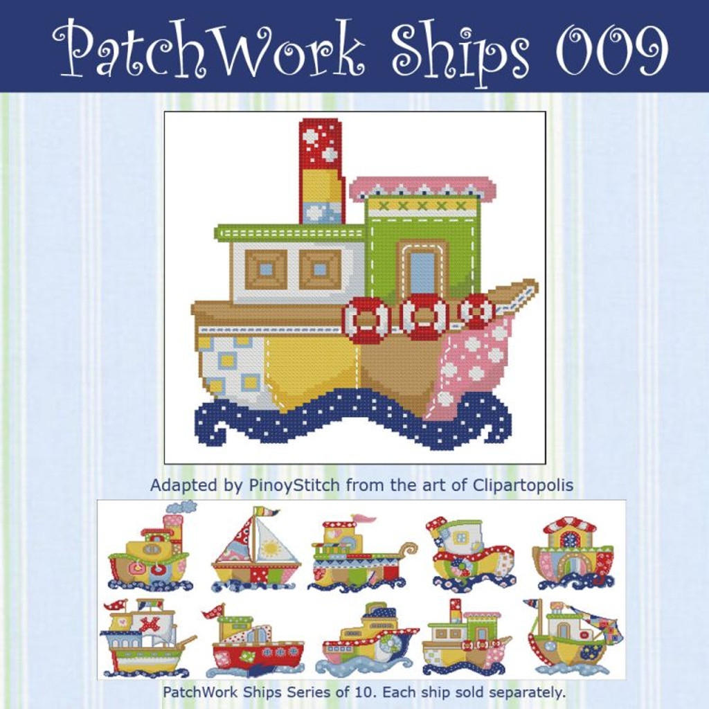 Patchwork Ships 009