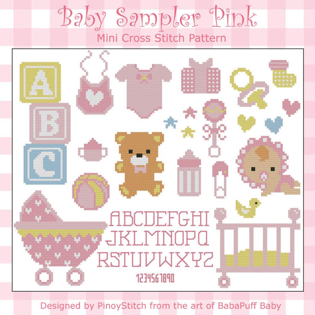 Baby Sampler Pink
