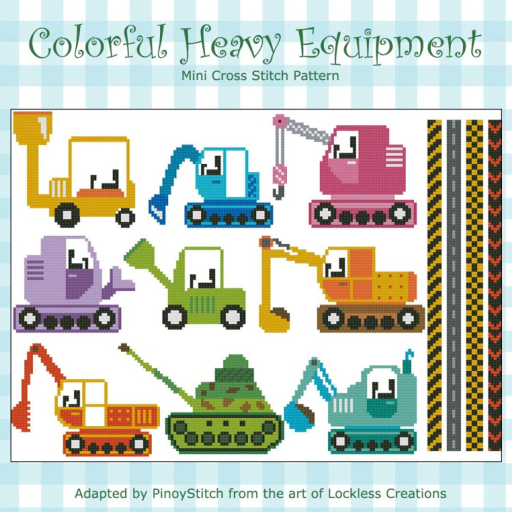 Colorful Heavy Equipment