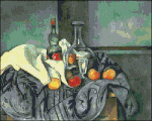 Flask and Fruits