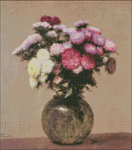 Daisies in a Glass Vase