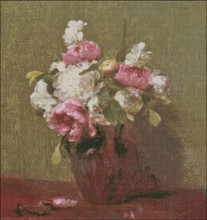 White Peonies and Narcissus