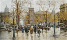 Autumn Parisian Scene