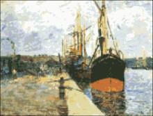 Quay at Rouen