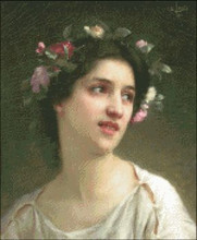 Nymph with Flowers