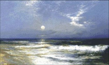 Moonlit Seascape (Detail)
