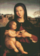 Madonna and Child with Book