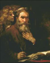 Saint Matthew and the Angel