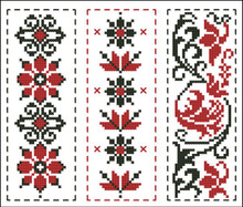 Black and Red Bookmark Collection