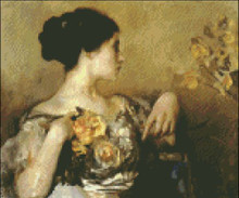 Lady with Corsage