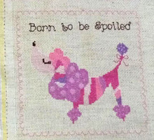 Born to be Spoiled (Poodle) Pink