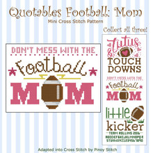 Quotables Football Mom