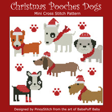 Christmas Pooches Dogs