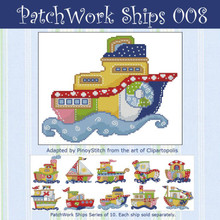 Patchwork Ships 008