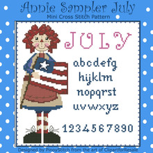 Annie Mini Sampler 007 July