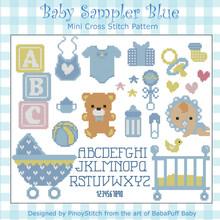 Baby Sampler Blue