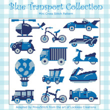 Blue Transport Collection