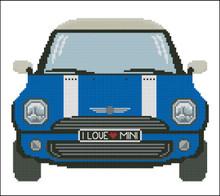 Mini Sports Car Blue