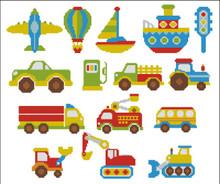 Bright Color Vehicles Mini Collection