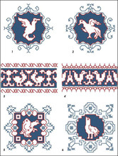 Assisi Embroideries Plate 002