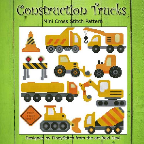 Contruction Trucks Sampler