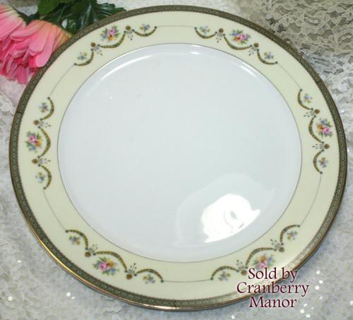 Noritake Japan Marigold #71436 Chop Plate Platter Dish Vintage 1920s Japanese Designer Gift