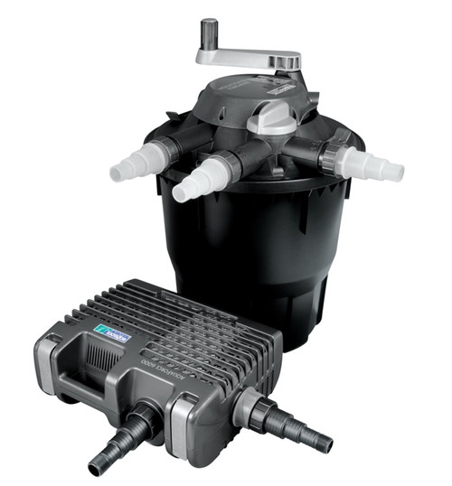 Hozelock Bioforce Revolution 14000 + Aquaforce Pond Filter Kit