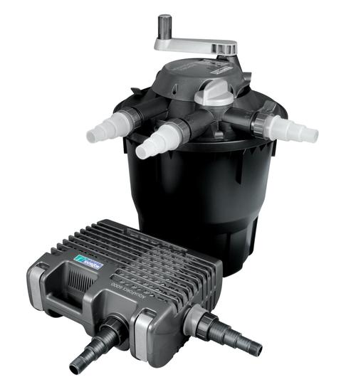Hozelock Bioforce Revolution 9000 + Aquaforce Pond Filter Kit