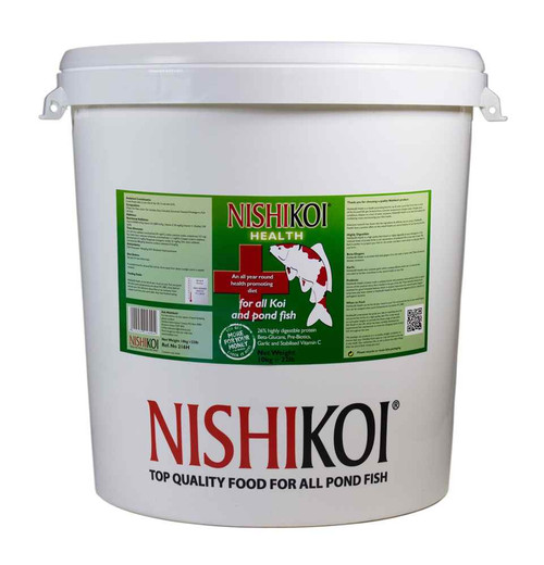Nishikoi Health 10kg Fish Food