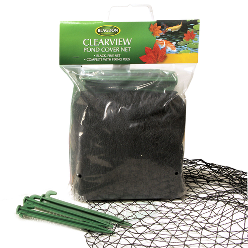 Blagdon Clearview Fine Black Pond Cover Netting 3x4m