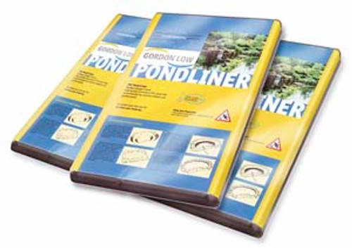 Gordon Low PVC Pond Liner 2 x 2.5m