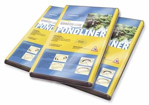 Gordon Low PVC Pond Liner 3 x 4m